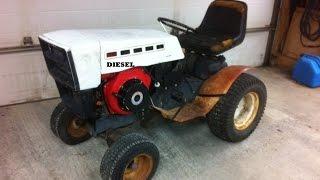 10hp Diesel Garden Tractor ***build Part 1***