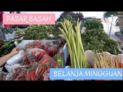 WEEKLY SHOPPING | BELANJA MINGGUAN KE PASAR | Its Flair'sLife