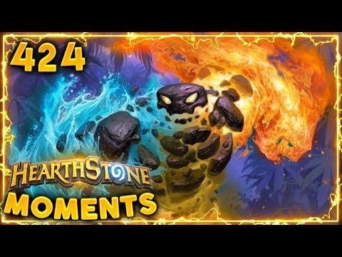 Shaman with Pyroblast?? | Hearthstone Daily Moments Ep. 424