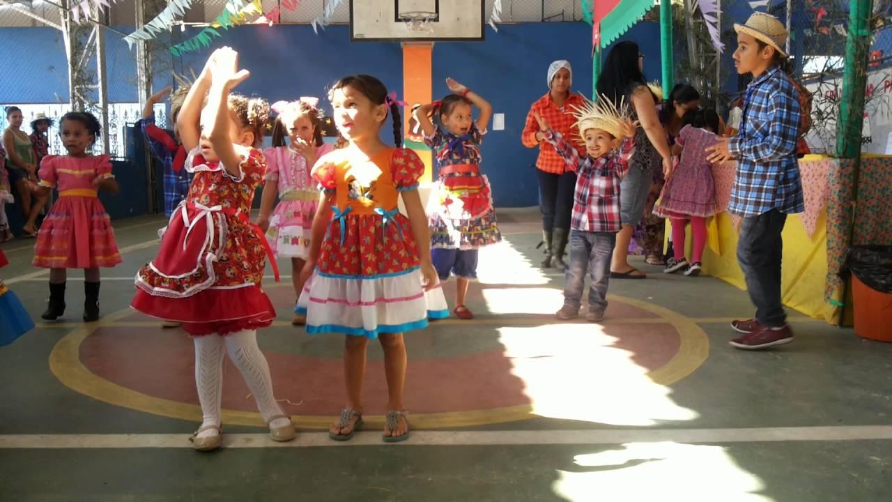 apresentação festa junina maternal ll youtube