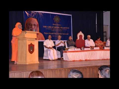 Swami Dayananda Saraswati at Sarma Sastrigal