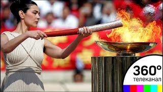 Олимпийский огонь прибыл в Южную Корею