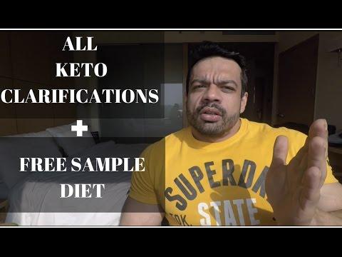 All KETO clarifications + FREE sample DIET