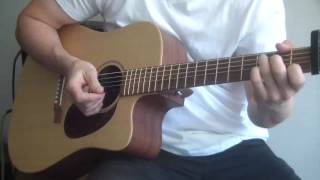 I Will Wait Chords, Strumming Pattern, CORRECT VERSION, by Mumford & Sons