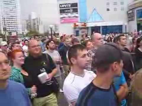 Навальный в Митино. Встреча с избирателями. Фрагмент.