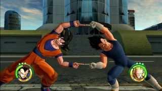 Goku e Vegeta VS Vilões
