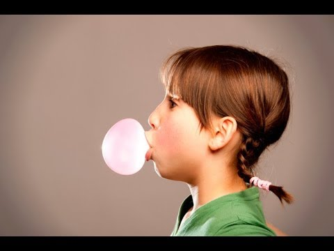 Secrets of Blowing a Bubble with Bubblegum