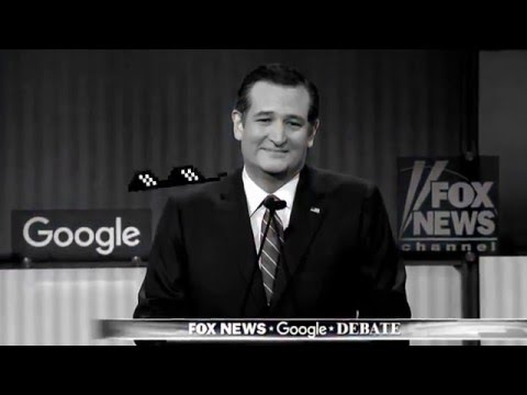 Thug Life Ted Cruz Conjures the Donald