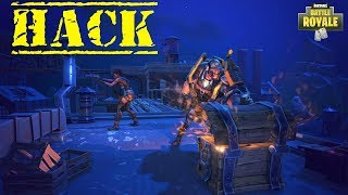#FORTNITE HACK BATTLE ROYALE (through the wall)