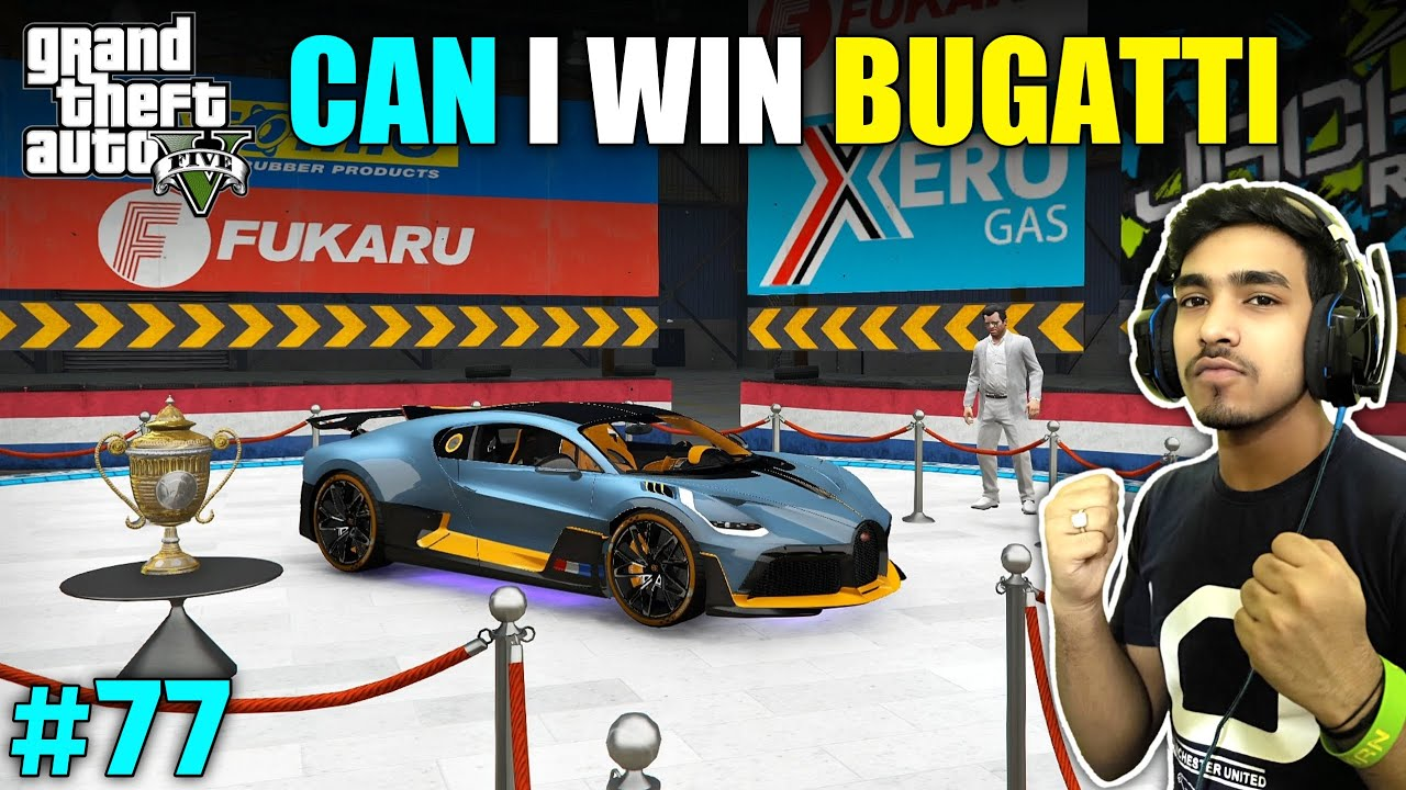 FIRST PRIZE IS BUGATTI OF THIS RACING TOURNAMENT | GTA V GAMEPLAY #77