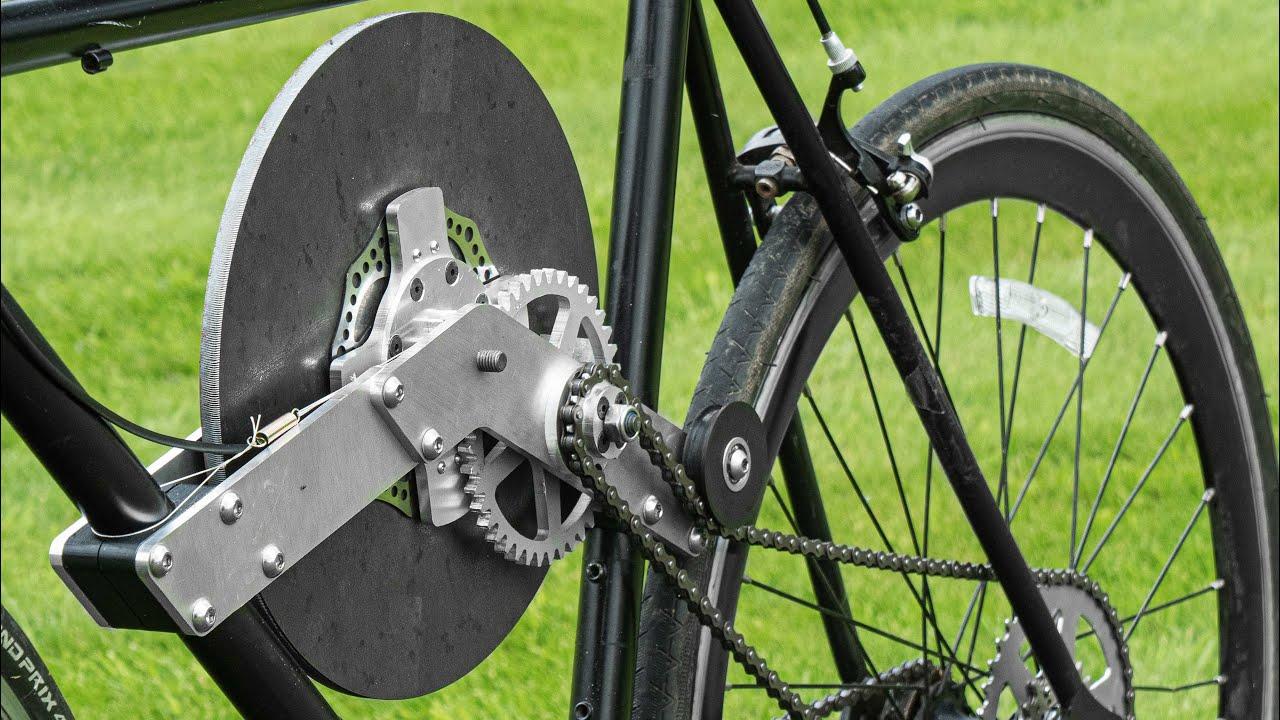 Flywheel Bike KERS
