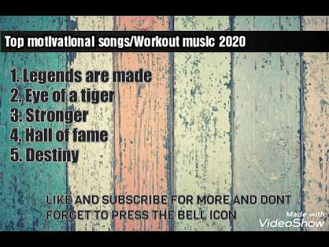 Top Motivational Songs 2020 Top Workout Music Songs 2020 Top 5 Motivational English Songs Youtube