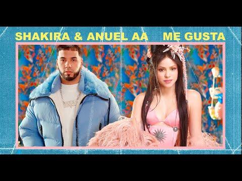 Shakira presenta Me gusta junto a Anuel AA