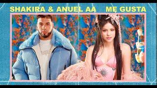Shakira & Anuel AA – Me Gusta (Lyric)