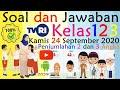 Belajar di TVRI Kelas 1-3 SD 🔥 Kamis 24 September 2020 🔥 TVRI live streaming hari ini