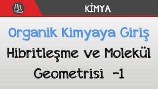 Organik Kimyaya Giriş - Hibritleşme ve Molekül Geometrisi  -1