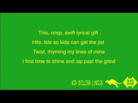 Brad Strut - Authentic (Lyrics on Screen)