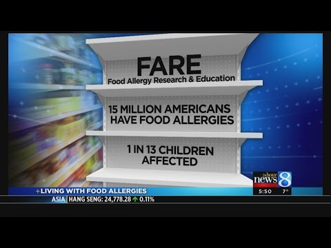 Mother of 2 kids with food allergies: 'It's scary'