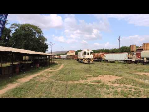 Ethiopia - Dire Dawa train station depot - daily maintenance