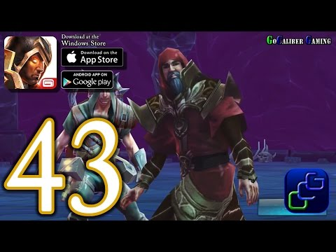 Dungeon Hunter 5 Android IOS Walkthrough - Part 43 - Final Mission 45 (EASY, HARD)