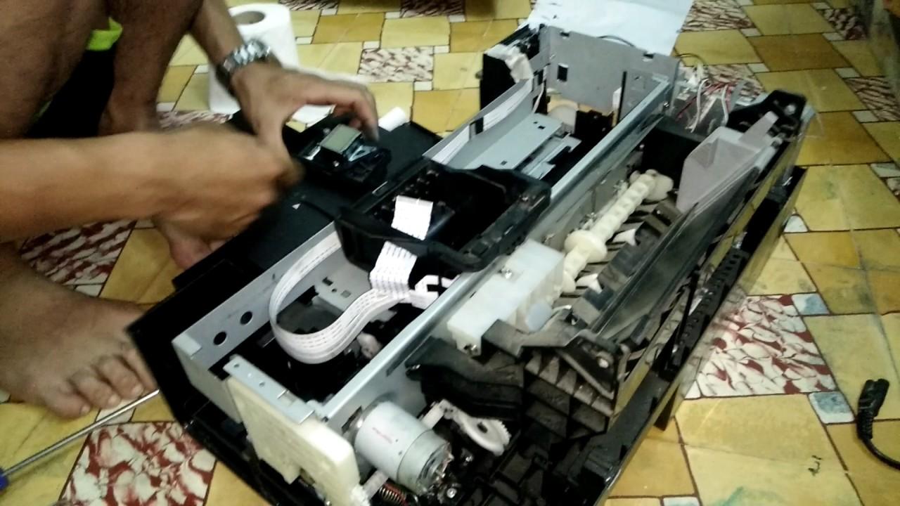 Hướng dẫn thông đầu phun máy in màu Epson T60