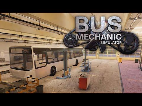 Bus Mechanic Simulator ★ GamePlay ★ Ultra Settings |