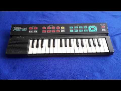 Yamaha PortaSound PSS-80 Demo Song