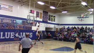 Wyatt Hanson Dunk #1 vs  Mohall