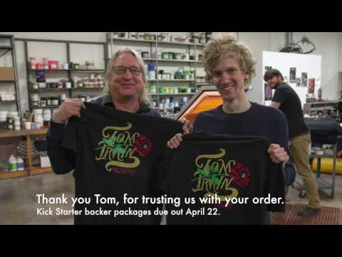 Tom Irwin visits the shop