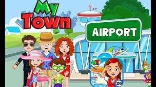 My Town : Aeroporto- meu aviao pegou fogo#2
