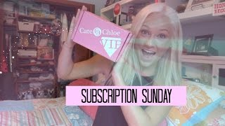 August Cate & Chloe VIP Box ~ JEWELRY ~ Subscription Sunday - UNBOXING & REVIEW