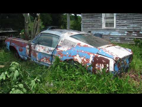 1967 Mustang Fastback Barn Find