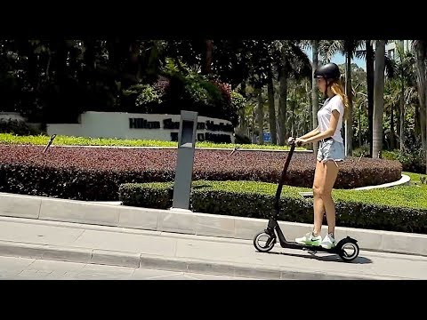 The AKTIVO Scoot - An Elegant High Performing Hubless Electric Scooter
