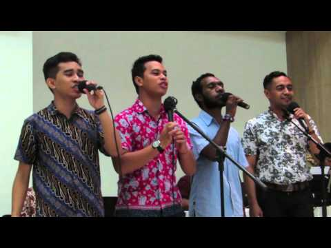 Lagu WHAT ABOUT NOW, Sing by EAST VOICE @ UKI