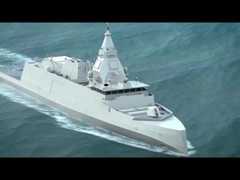 DCNS - BELH@RRA Stealth Digital Fighting Frigate Combat Simulation [720p]