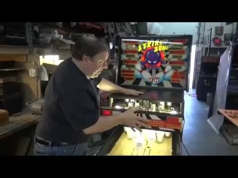 #645 Williams STRIKE ZONE Shuffle Bowling Alley - Another One! TNT Amusements