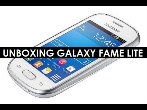 UNBOXING GALAXY FAME LITE