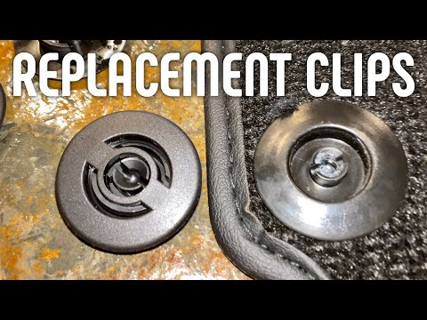How to Replace Fix Maserati Ferrari Floor Mat Clips