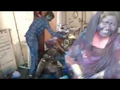 Holi ka Dangal at Home(you never seen in the world,must watch)