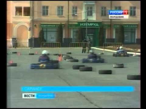 В Саранске прошла открытая тренировка по картингу перед началом нового сезона