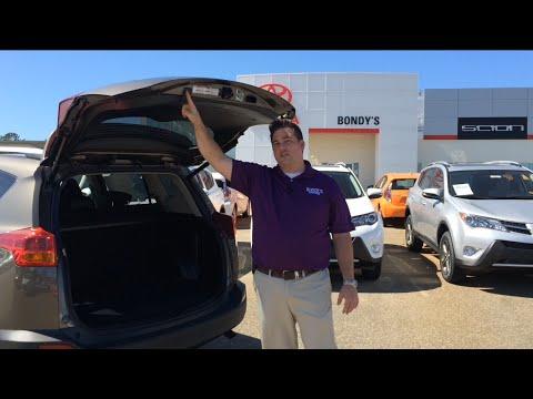 Hyundai Of Dothan >> Toyota Rav4 How to set power liftgate height Enterprise