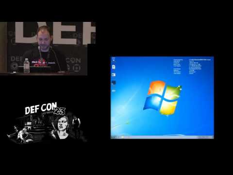 DEF CON 23 - Grant Bugher -  Obtaining and Detecting Domain Persistence
