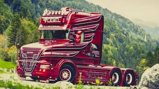 Грузовой тюнинг. Truck Tuning. Лучшие тюнинговые грузовики в своем классе.