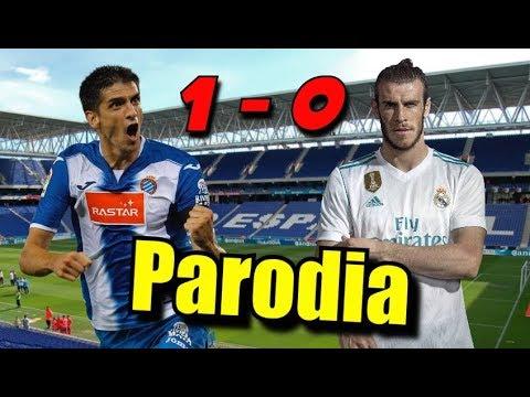 Canción Espanyol vs Madrid 1-0 (Parodia Avicii - Waiting For Love)