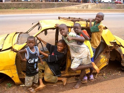 Город Конакри! столица Гвинеи!! Conakry! capital of Guinea!