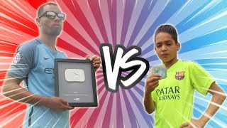 MS2 x Aladdin ( Valendo 600 Reais Vs Placa do YOUTUBE ) DESAFIOS DE FUTEBOL