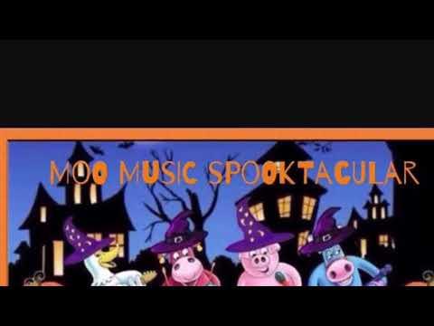 Moo music Halloween special-children's songs