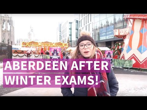 What To Do In Aberdeen After Your Winter Exams | Hollie McRae | Student Vlog
