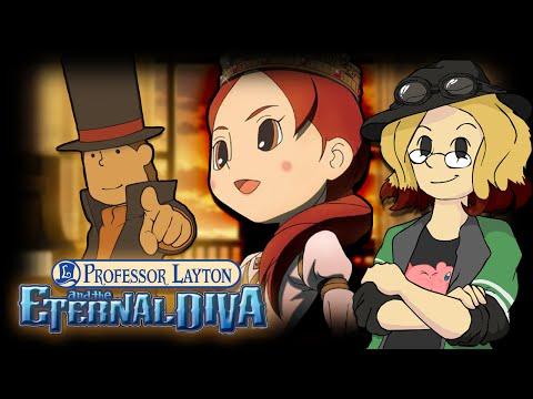 professor layton and the eternal diva english