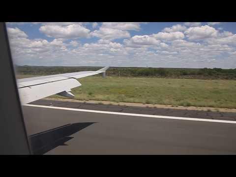 Descending to Hosea Kutako Airport near Windhoek in Namibia on 31. Dez 2013